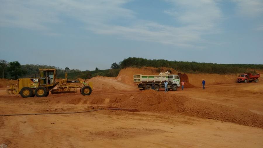 Prefeitura de Martins Soares constrói novo Parque de Exposição