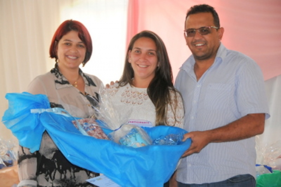 Encontro reúne gestantes de Martins Soares